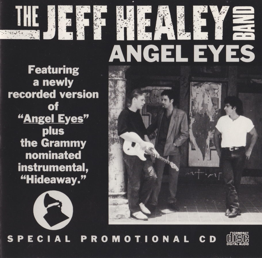 Angel Eyes promo CD - front