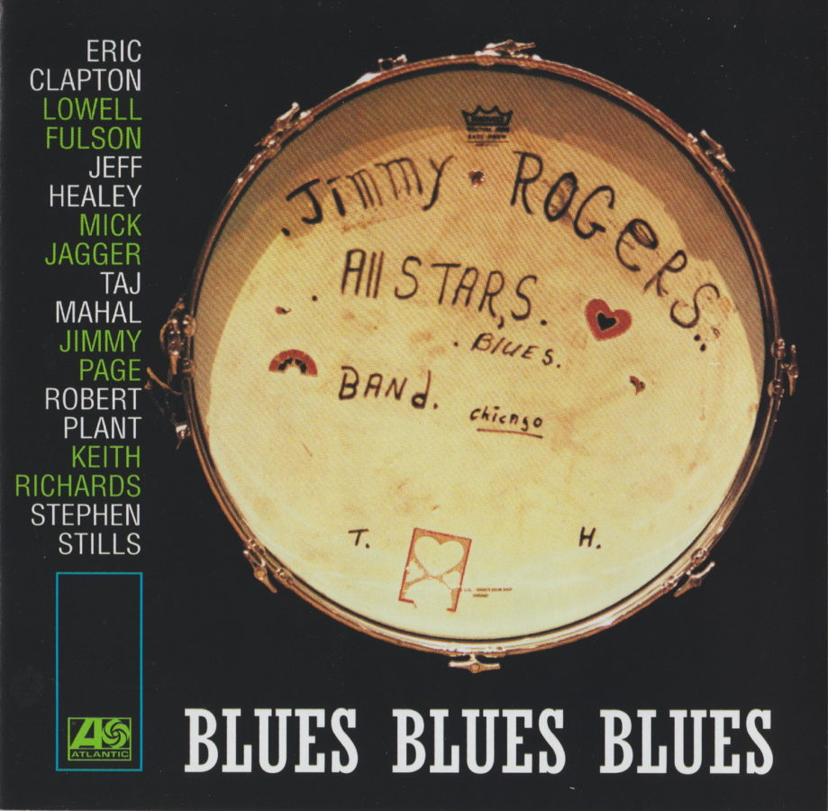 Blues Blues Blues - The Jimmy Rogers All-Stars - front