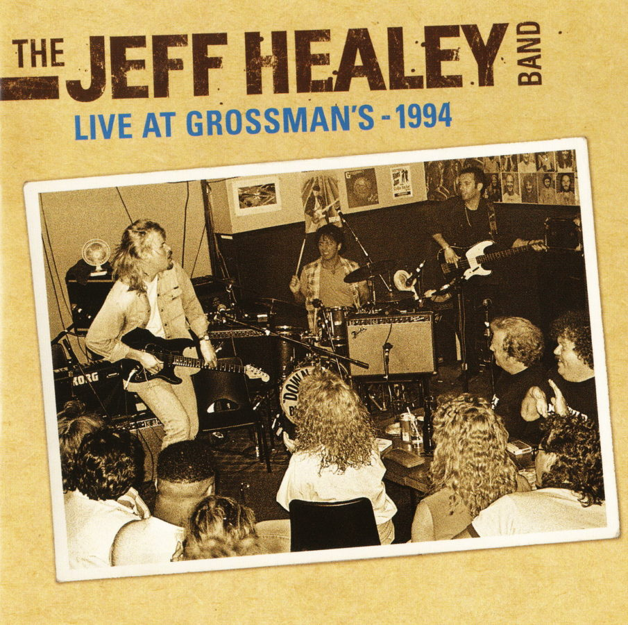 Live At Grossman's - 1994 - front