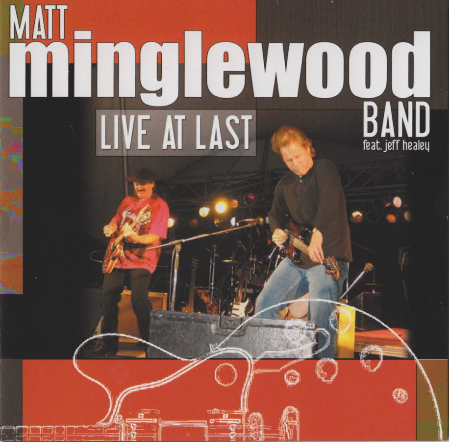 Matt Minglewood Band - Live At Last - front