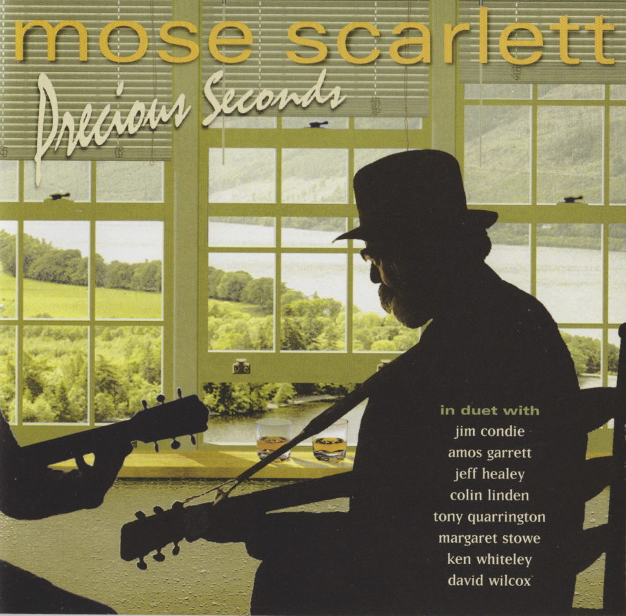 Mose Scarlett - Precious Seconds - front