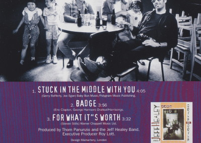 Stuck In The Middle With You - CD single - back