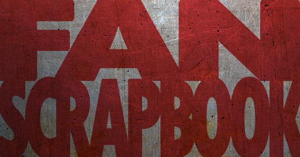 Fan Scrapbook – Concert in Wellington NZ
