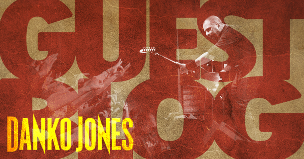 Guest Blog – Danko Jones