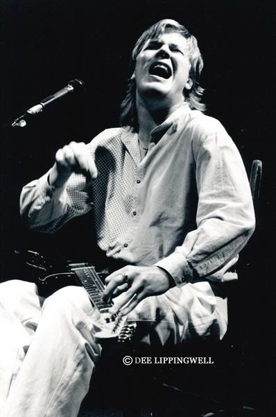 Jeff Healey Live in '90 - © Dee Lippingwell