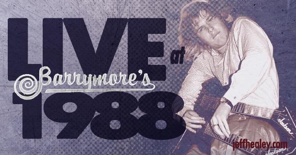 Rarities – Live at Barrymore's, Ottawa 1988