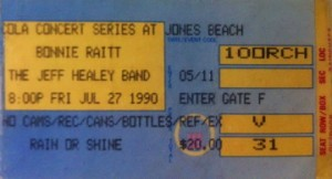 BR and JH ticket stub