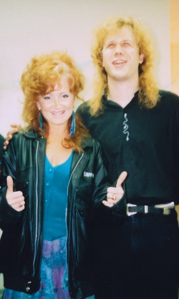 Jeff Healey - Bonnie Raitt - San Francisco 1990 - (courtesy the  Joe Rockman Archive)