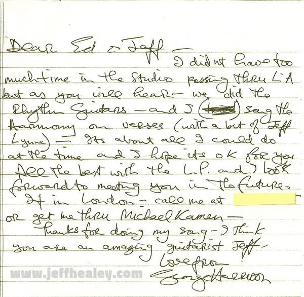 JH - ES Harrison Letter