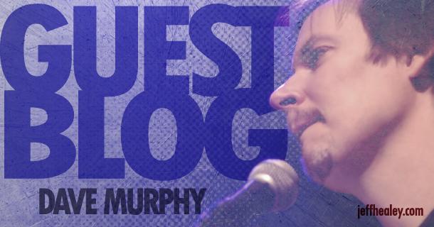Guest Blog – Dave Murphy