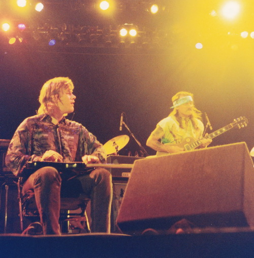 Jeff Healey w- Dickey Betts 1992 © Joe Rockman