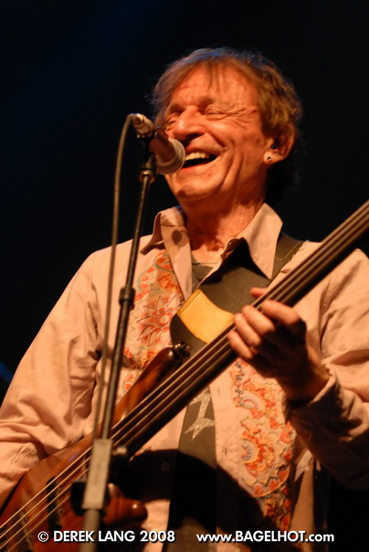 Jack Bruce performing at 'Jeff Healey: A Celebration' a 2008 tribute show honouring the memory of Jeff Healey  © Derek Lang