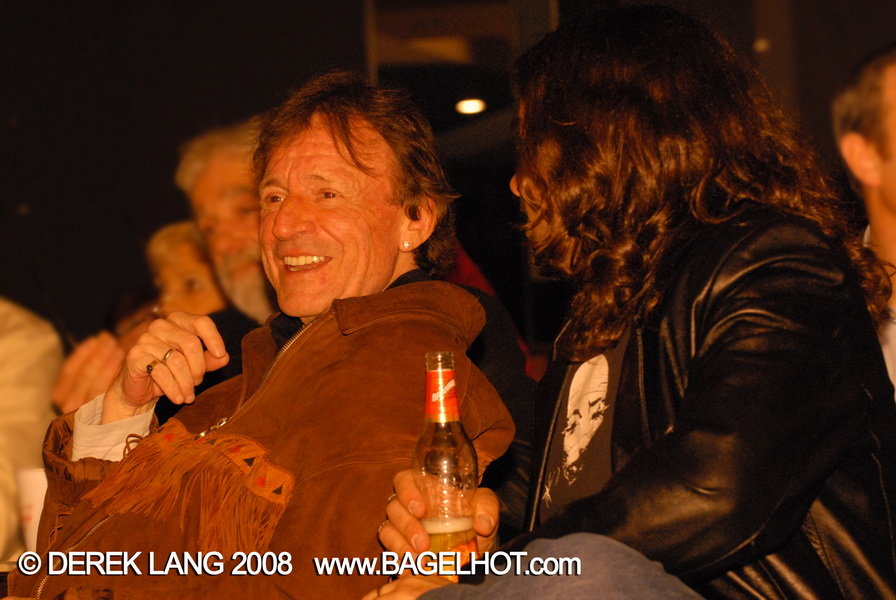 Jack Bruce and Roger Costa at Jeff Healey: A Celebration © Derek Lang