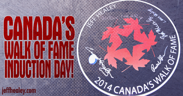 Canada's Walk of Fame Induction Day!