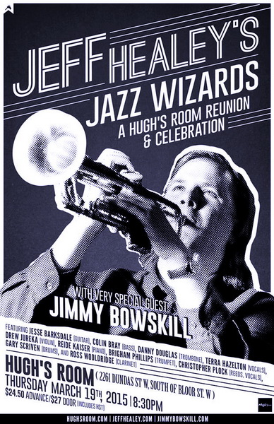 Jeff Healey's Jazz Wizards reunite for 2015 Jazz Celebration!