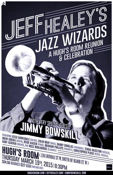 Jeff Healey's Jazz Wizards reunite for 2015 Jazz Celebration!