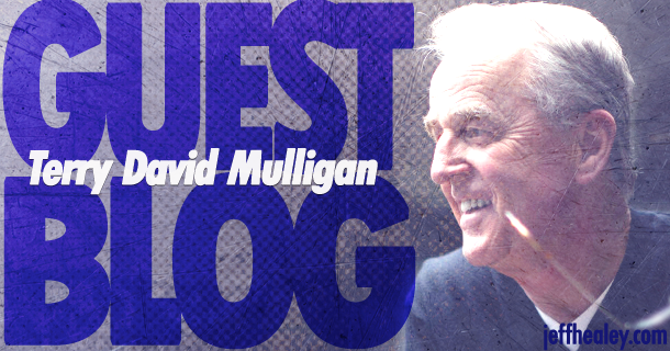 Guest Blog – Terry David Mulligan