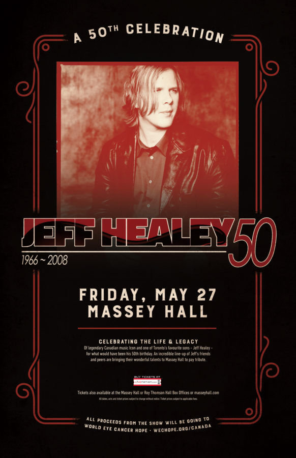 Jeff Healey: A 50th Celebration